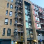 Esher Scaffolding Commercial Building