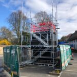 Temporary Scaffolding with Esher Scaffolding